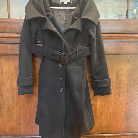 Black Pea Jacket- NYC